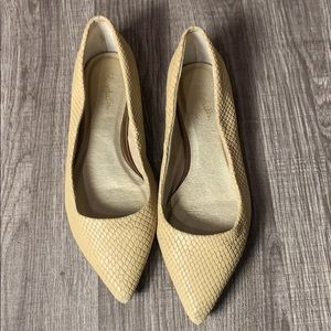 Seychelles leather size 7.5 leather pointed flats